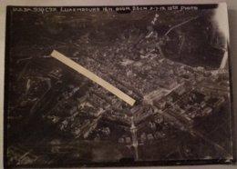 1919 Luxembourg Photo Aérienne 8 Eme Squadron 10 TH   Tranchèe Poilu 1914 1918 WW1 14/18 - Guerre, Militaire