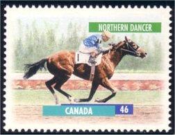 Canada Cheval Horse Pferd Northern Dancer 13 X 13.4 MNH ** Neuf SC (C17-91a) - 1952-.... Reign Of Elizabeth II