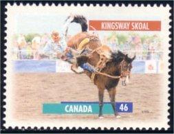 Canada Cheval Horse Pferd Kingsway Skoal 13 X 13.4 MNH ** Neuf SC (C17-92a) - 1952-.... Reign Of Elizabeth II