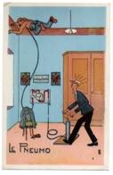 CPA Humoristique - Santé - Le Pneumo - Humour