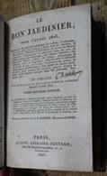 Le Bon Jardinier Pour L'année 1826 - Nature