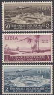 LIBIA, COLONIA ITALIANA - 1940 - Lotto Di 3 Valori Nuovi MH/MNH: Yvert Posta Aerea 13/15. - Libia