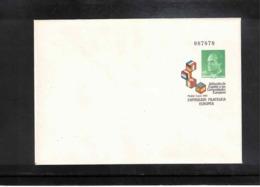 Spain1986 Interesting Postal Stationery Letter - Ganzsachen
