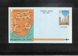 Spain1988 Interesting Postal Stationery Aerogramme - Ganzsachen