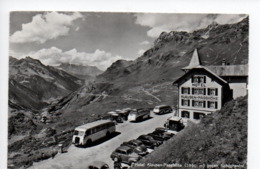 """Klausenstrasse Postauto Saurer """"Hecht""""  -----  238 - GL Glarus"""