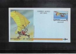 Spain1985 Interesting Postal Stationery Aerogramme - Ganzsachen