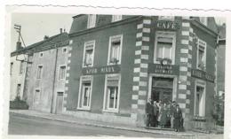 Luxembourg Altwies Station Café Photo Original 11/7cm (KDHM MARX/KOHN MARX - Postkaarten
