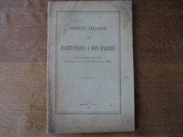 SOCIETE LILLOISE DES HABITATIONS A BON MARCHE STATUTS 1897  24 PAGES - Documentos Históricos