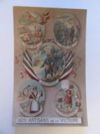 """Guerre 14-18 - CPA Patriotique - """"Nos Artisans De La Victoire"""" / Nos Poilus, Nos As, Etc... - Ed. Gloria - 19 Mai 1917 - Patriotiques"""