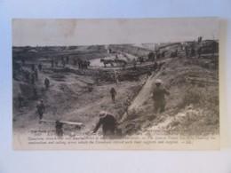 Guerre 14-18 - Le Célèbre Canal Du Nord [...] Que Les Canadiens Franchirent... - Carte Animée, Circulée En 1919 ? - Oorlog 1914-18