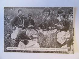 Guerre 14-18 - Guerre De 1914 - La Corvée Des Pommes De Terre - Carte Animée (soldats), Circulée - Guerre 1914-18