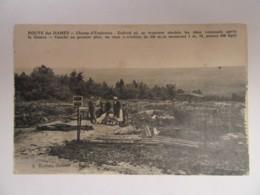 Guerre 14-18 - Route Des Dames - Champ D'Explosion - Carte Animée, Non-circulée - Guerre 1914-18