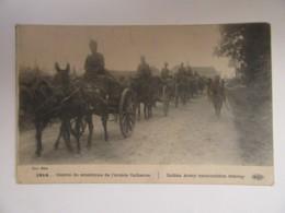 Guerre 14-18 - Convoi De Munitions De L'Armée Indienne - Carte Animée, Circulée Le 28 Novembre 1914 - Guerre 1914-18
