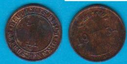 DR. 1 Reichspfennig 1934 A Kupfer J.-Nr.313 - [ 3] 1918-1933 : República De Weimar