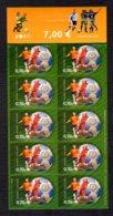 FINLANDE 2007 - Yvert N° 1803 - Facit 1837 - Neuf ** / MNH - FEUILLET 10 Valeurs - Association Finlandaise De Football - Markenheftchen