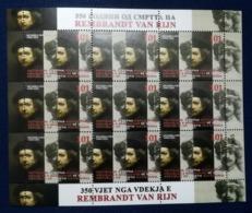 MACEDONIA NORTH 2019 - 350th Ann.of The Death Of REMBRANDT VAN RIJN SS MNH - Macedonia