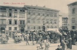 Z.687. TRENTO - Piazza Della Posta - Scena Di Mercato - Trento