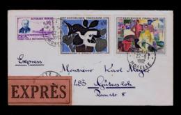 Sp6288 FRANCE Metz Gare- Moselle 1962 Paintings R.de LA FRESNAY Peinture Arts G.BRAQUE Ponts Bridges Mailed - Autres