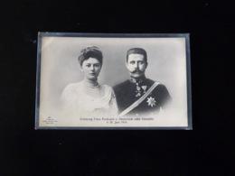 ERZHERZOG FRANZ FERDINAND V. OESTERREICH NEBST GEMAHLIN - Familles Royales