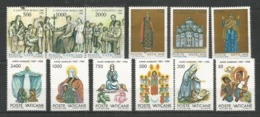 12 Stamps VATICAN - MNH - Art - Painting - Religious - Religious