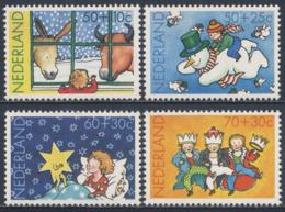 Nederland Netherlands Pays Bas 1983 Mi 1241 /4 YT 1211 /4 SG 1429 /2 ** Kind Und Weihnachten / Child And Christmas - Kindertijd & Jeugd