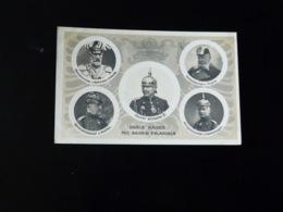 UNSER KAISER MIT SEINEN PALADINEN - Guerre 1914-18