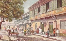 """""""Manila. The Squae Of Cervantes"""" Tuck Oilette Manila Ser. PC # 2507 - Tuck, Raphael"""