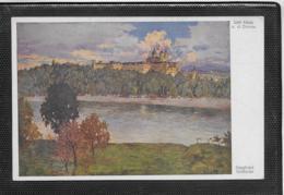 AK 0368  Stoitzner , Siegfried - Stift Melk An Der Donau / Künstlerkarte Um 1910-20 - Melk