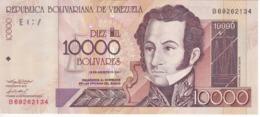BILLETE DE VENEZUELA DE 10000 BOLIVARES DEL AÑO 2001 SIN CIRCULAR (BANKNOTE) UNCIRCULATED - Venezuela