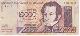 BILLETE DE VENEZUELA DE 10000 BOLIVARES DEL AÑO 2002 SIN CIRCULAR (BANKNOTE) UNCIRCULATED - Venezuela