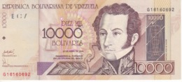 BILLETE DE VENEZUELA DE 10000 BOLIVARES DEL AÑO 2006 SIN CIRCULAR (BANKNOTE) UNCIRCULATED - Venezuela