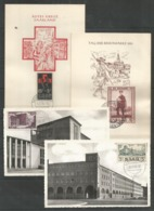 4 MC SAAR - Art - Architecture - Red Cross - 1953 - 1955 - Suède
