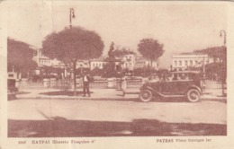 PETRAS - PATRASSO   /  Place Georges Ier  _ Viaggiata 1941 - Grecia