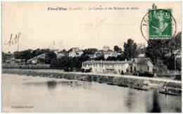 78 FIN-d'OISE - Le Coteau Et Les Bateaux De Pêche - Autres Communes