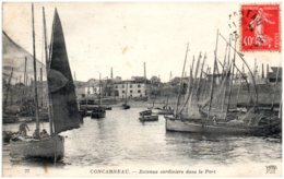 29 CONCARNEAU - Bateaux Sardiniers Dans Le Port - Concarneau