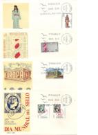 1969-ED. 1898, 1920 A 1925, 1933 Y 34, 1946 A 1948-8 S.P.D. Del S.F.C. - FDC