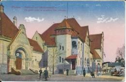 CP Allemagne - WORMS - La Gare Avec Le Pavillon Des Princes - Worms