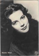 Natalie Wood. Vraie Photo Vintage Warner Bros. Grand Format. Timbrée, Circulé En 1958. Vraie Photo. 2 Scans - Entertainers