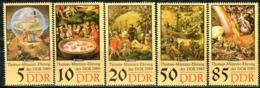 DDR - Mi 3269 / 3273 - ** Postfrisch (A) -  Thomas Müntzer II - DDR