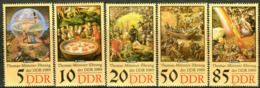 DDR - Mi 3269 / 3273 - ** Postfrisch (B) -  Thomas Müntzer II - DDR