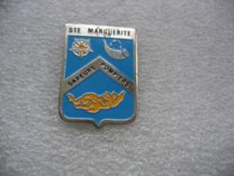 Pin's Des Sapeurs Pompiers De Sainte Marguerite (Dépt 88) - Pompiers