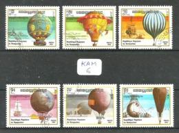 KAM YT 393/399 En Obl - Kampuchea