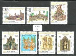 KAM YT 376/382 En Obl - Kampuchea