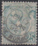 Monaco 1891 MiN°10 (o) - Monaco