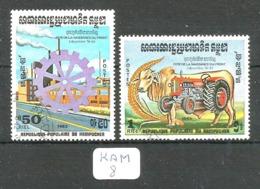 KAM YT 433/434 En Obl - Kampuchea