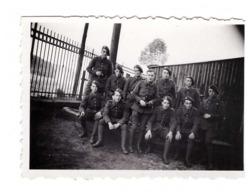 Militaire Soldat Groupe De Soldats Petite Photo Photographie 8,9x6,1cm - Régiments
