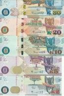 Zambia - Set 5 Banknotes 2 5 10 20 50 Kwacha 2018 UNC Lemberg-Zp - Zambia