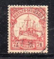 XP2511 - Ostafrika Africa Orientale 1905 , Yvert N. 24  Usato  (2380A).  Heller - Colonie: Afrique Orientale