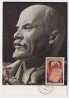 CARTE MAXIMUM CM Card USSR RUSSIA October Revolution LENIN - 1923-1991 URSS