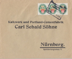 DR Brief Mef Minr.3x 425 Bpst. - Briefe U. Dokumente